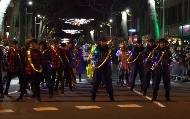 parade noel millau