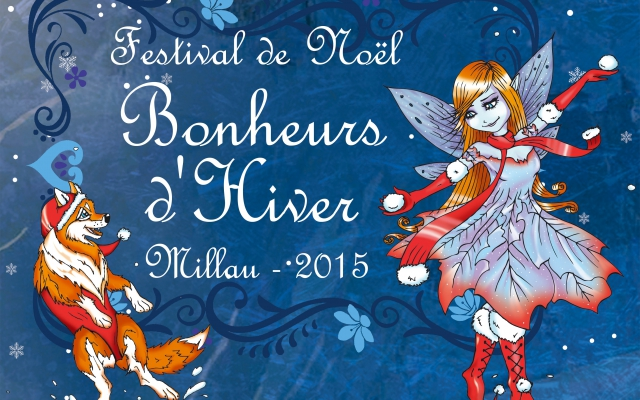 La magie du Festival « Bonheurs d'Hiver » à Millau en vidéo (2015)
